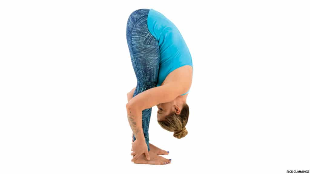 Standing Forward Fold Pose