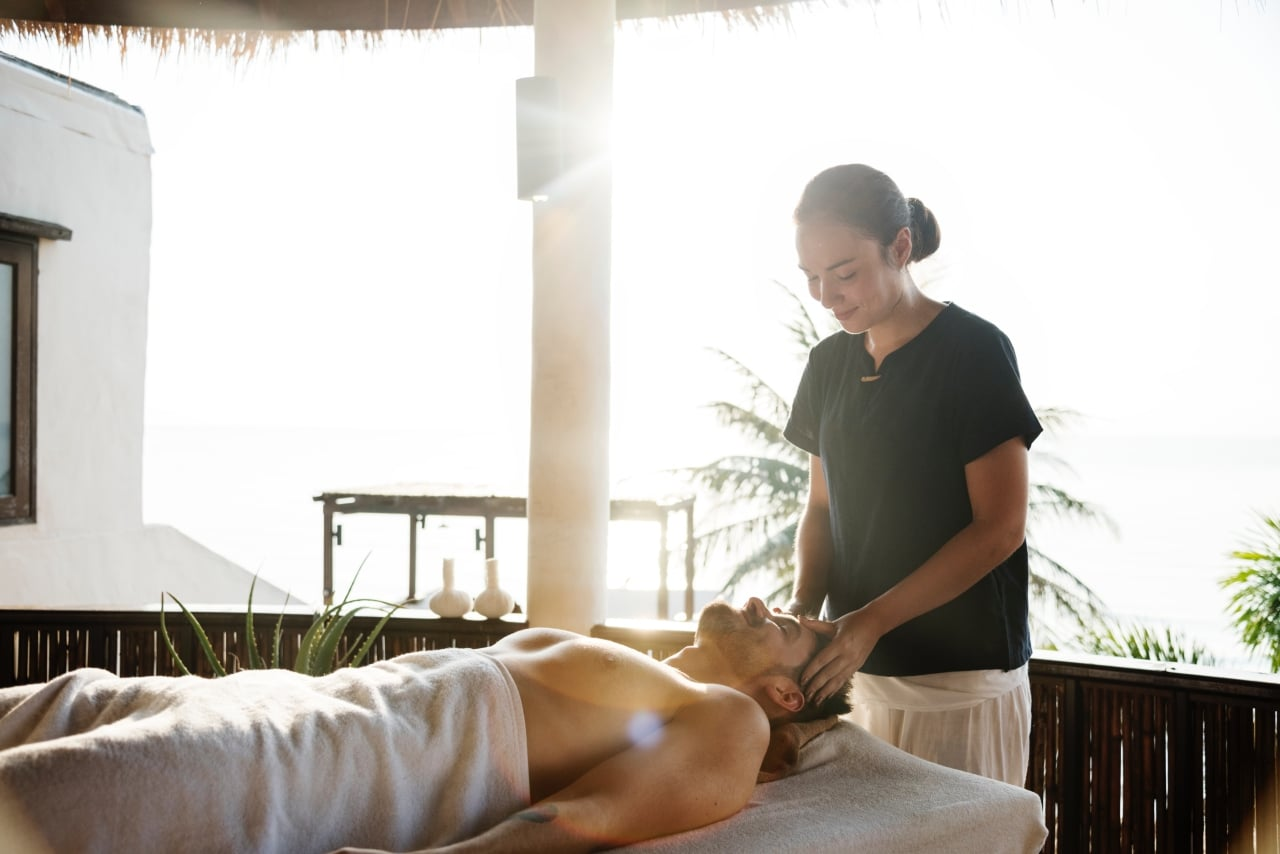 massage, relax, pampering