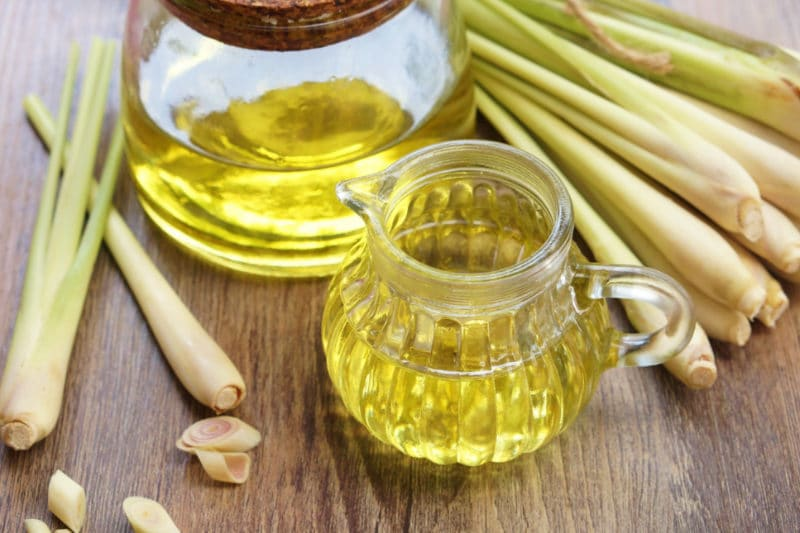 Lemongrass oil- Remedies for itchy scalp