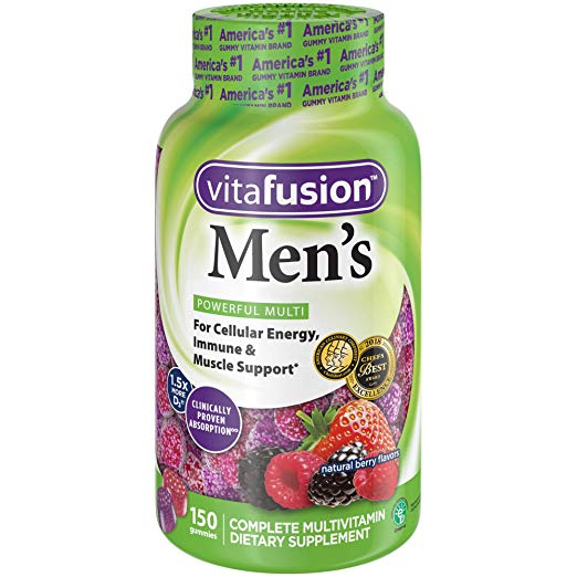 Vitafusion Mens Gummy- Multivitamins for mens